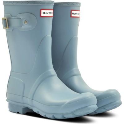 ハンター HUNTER レディース レインシューズ・長靴 シューズ・靴 'Original Short' Rain Boot Cavendish Blue