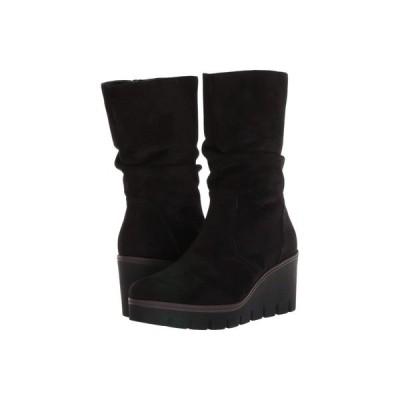 ガボール Gabor レディース ブーツ シューズ・靴 34.781 Black Microvelour