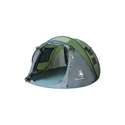 iimono117 ワンタッチテント (グリーン) ビックテント ワンタッチビックテント ビックサイズテント テント アウトドア キャンプ ポップアッ