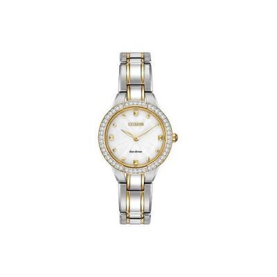 シチズン 腕時計 Citizen Silhouette クリスタル エコドライブ レディース 腕時計 EX1364-59A
