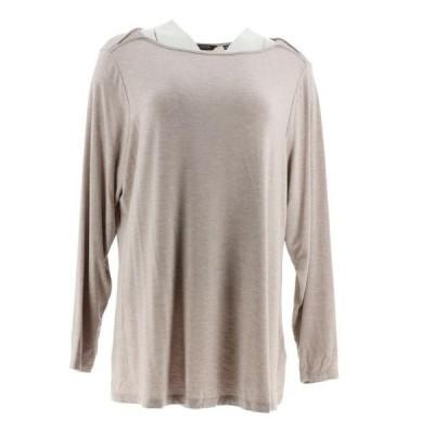 レディース 衣類 トップス Halston Essentials Boatneck Top Gussets Women's A296711 Tシャツ