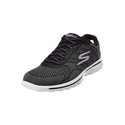 アスレチック スケッチャーズ SKECHERS USA Inc 13974 Skechers レディース Go Walk 2 Fuse Walking. Black/purple