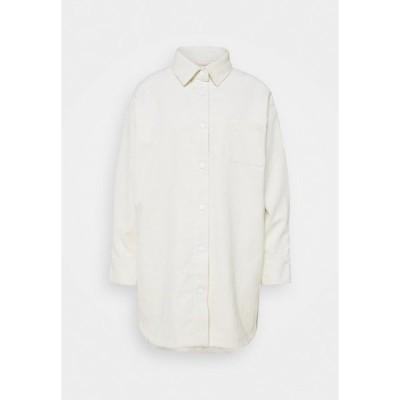 エコアルフ シャツ レディース トップス NENDAZ  - Button-down blouse - off white