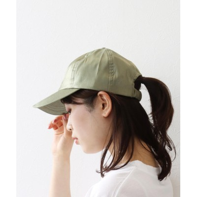 Three Four Time / シャイニーキャップ WOMEN 帽子 > キャップ