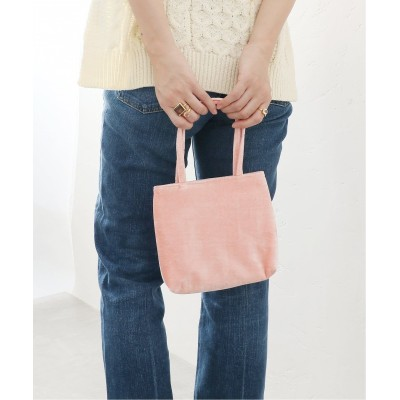 レディース ラ トータリテ 【HAI/ハイ】 little velvet Bag◆ ピンク B フリー