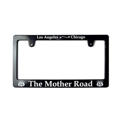 ライセンスフレーム/MOTHER ROAD ナンバープレートフレーム 車用 ルート66