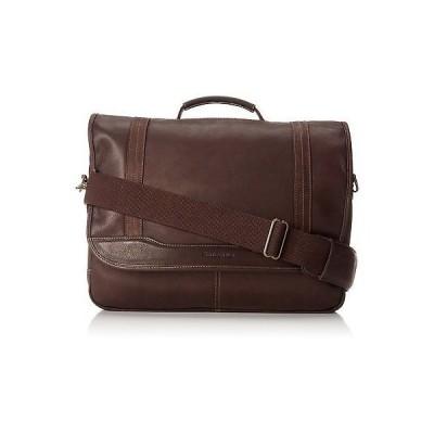 バッグ リュック サムソナイト Samsonite Colombian Leather Flapover Briefcase Brown 50789-1139