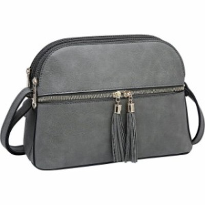 Dasein  ファッション バッグ Dasein Multi-Pockets Crossbody with Tassel 11 Colors Cross-Body Bag NEW