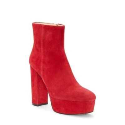 ヴィンスカムート レディース ブーツ&レインブーツ シューズ Leslieon Square Toe Platform Boot RAMBA RED