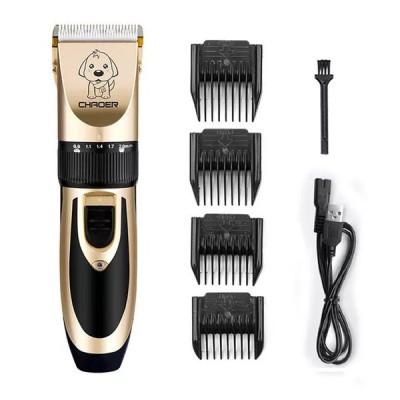 ペット犬猫バリカン電気トリマー充電式プロフェッショナルツール低noiserペット散髪シェービングマシンセット