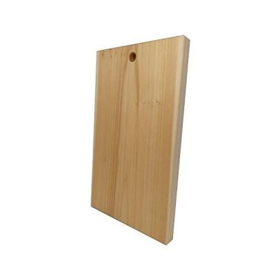 アウトレット品katajiya 木製まな板 国産 いちょう材 希少部位 赤身勝ち 無垢一枚物 本格使用の Lサイズ (450×270 厚30