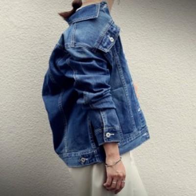 ヴィンテージデニムジャケット・『愛用し続けたようなヴィンテージ感にとことん拘ってます。』メール便不可 母の日