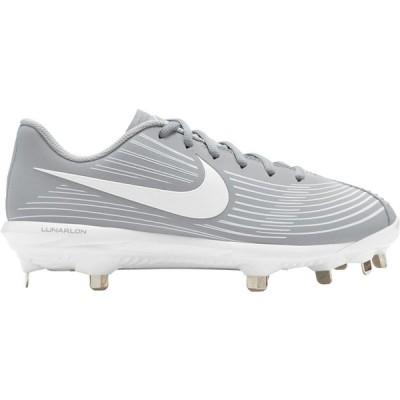 ナイキ Nike レディース 野球 スパイク シューズ・靴 Lunar Hyperdiamond 3 Pro Metal Fastpitch Softball Cleats Grey/White