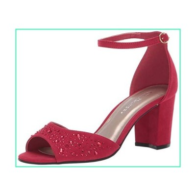 CL by Chinese Laundry Women's Joella Heeled Sandal, Ruby RED Suede, 8.5 M US並行輸入品