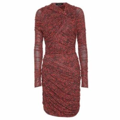 イザベル マラン Isabel Marant レディース ワンピース ワンピース・ドレス Jobia stretch-jersey dress Red