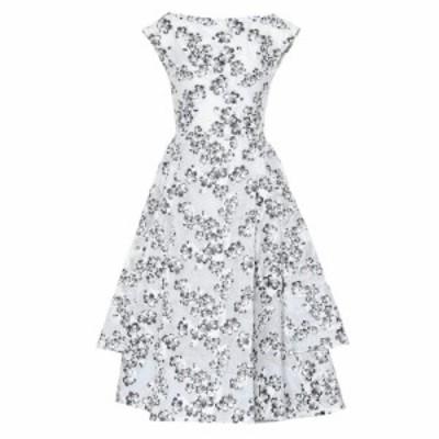 マティスフスキー Maticevski レディース ワンピース ワンピース・ドレス Innocents floral jacquard dress Flora