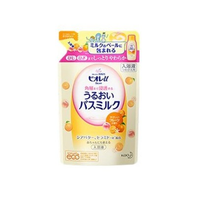 花王 ビオレu 角層まで浸透するうるおいバスミルク やさしいフルーツの香り 詰替480ml