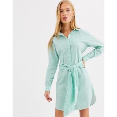 セレクティッド レディース ワンピース トップス Selected belted dress