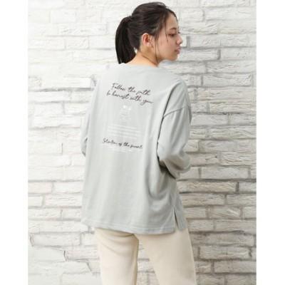 BackアソートプリントロングTシャツ