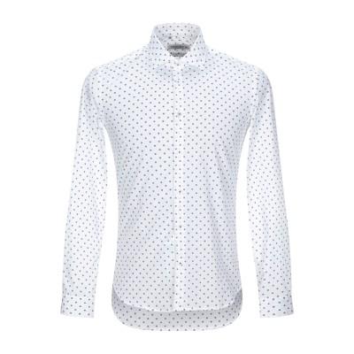 マニュエル リッツ MANUEL RITZ シャツ ホワイト 40 コットン 100% シャツ