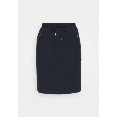 レディース ファッション Mini skirt - navy