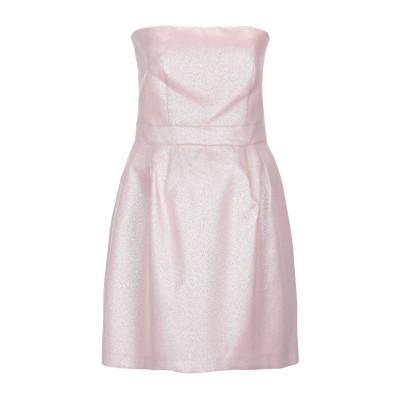 アトス ロンバルディーニ ATOS LOMBARDINI ミニワンピース&ドレス ピンク 42 コットン 60% / ナイロン 28% / ポリエス