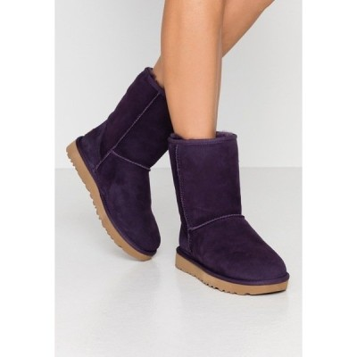 アグ ブーツ&レインブーツ レディース シューズ CLASSIC SHORT - Classic ankle boots - nightshade