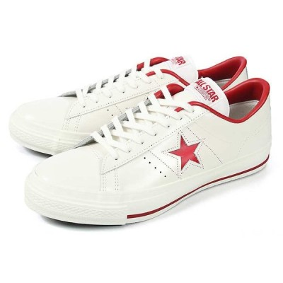 converse (コンバース) ONE STAR J(ワンスター J) ホワイト/レッド