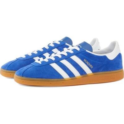 アディダス Adidas メンズ スニーカー シューズ・靴 munchen Blue/White/Gum