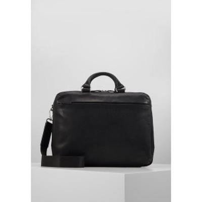 ヨースト メンズ ショルダーバッグ バッグ MALM BUSINESS BAG - Briefcase - black black