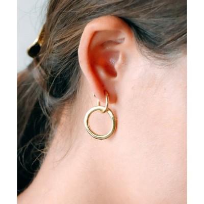 イヤリング Losau ロサウ / 2way distortion earrings シルバー925 2WAYディストーションイヤリング / lo-p
