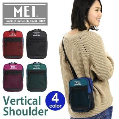 ショルダー バッグ 縦型 送料無料 MEI メイ エムイーアイ メッシュ 軽量 正規品 リニューアル ショルダーバッグ メンズ レディース ブランド
