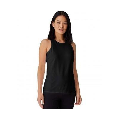 Eileen Fisher アイリーンフィッシャー レディース 女性用 ファッション トップス シャツ Round Neck Slim Tank in Organic Cotton Stretch Jersey - Black