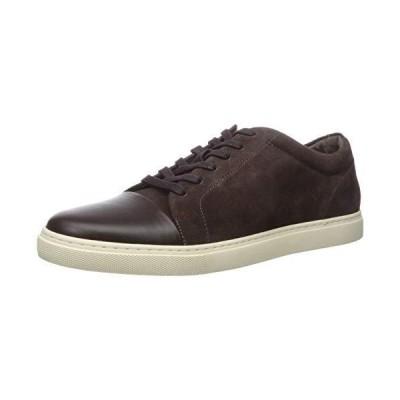 Allen Edmonds Men's Cooper Sneaker, Brown, 10.5【並行輸入品】