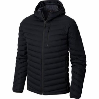 マウンテンハードウェア Mountain Hardwear メンズ ダウン・中綿ジャケット フード アウター stretchdown hooded jacket Black
