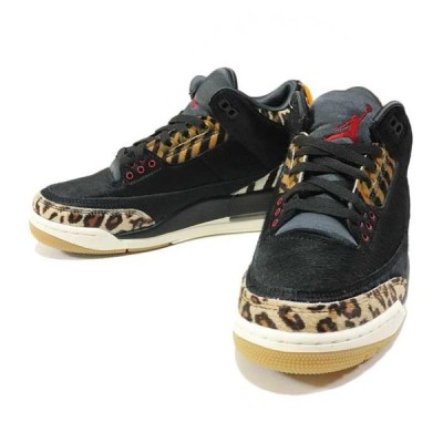 "国内正規品 2019 NIKE AIR JORDAN 3 RETRO SE ""ANIMAL PACK"" BLACK/SAIL/GUM LIGHT BROWN/MULTI-COLOR CK4344-001 新品未使用品"