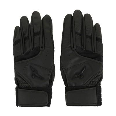 MIZUNO野球耐久打ち込み手袋 両手用 18SS 1EJEH16090ブラック