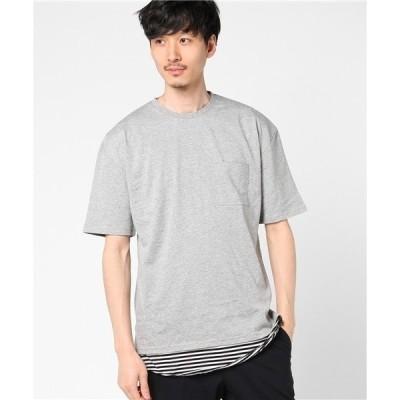 tシャツ Tシャツ VIBGYOR Select/ フェイクレイヤードアンサンブルTシャツ