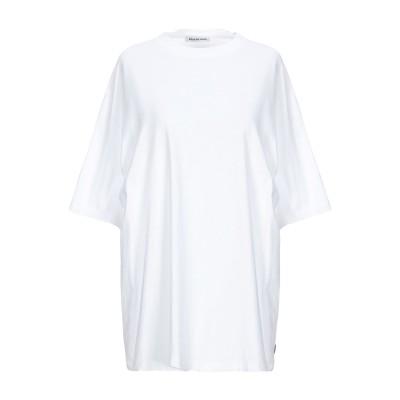 バレンシアガ BALENCIAGA T シャツ ホワイト XS コットン 100% / ポリエステル T シャツ