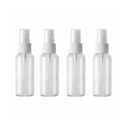 4個セット スプレーボトル 詰替ボトル 透明小分けボトル 容器 (50ml)