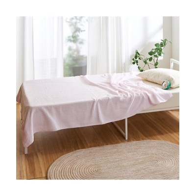 肌ざわりと吸水性が良い綿100%のタオルケット タオルケット・肌掛け布団・キルトケット, Beddings, 寝具(ニッセン、nissen)