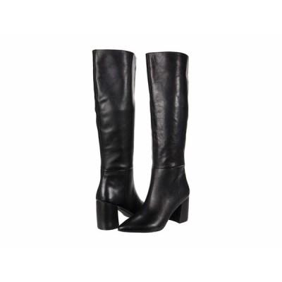 スティーブ マデン ブーツ&レインブーツ シューズ レディース Nilly Boot Black Leather