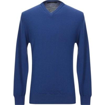 メッサジェリエ MESSAGERIE メンズ ニット・セーター トップス sweater Blue