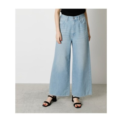 EASY DENIM WIDE L/BLU1