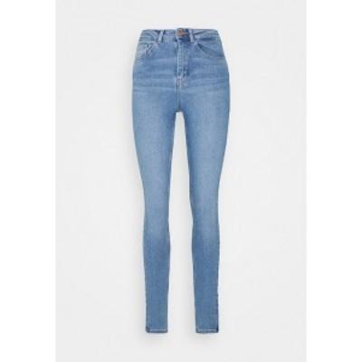 ピーシーズ レディース デニムパンツ ボトムス PCHIGHFIVE FLEX - Jeans Skinny Fit - light blue denim light blue denim
