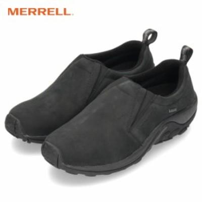 【BIGSALEクーポン対象】 メレル ジャングル モック ゴアテックス MERRELL JUNGLE MOC GORE-TEX J42301 ブラック メンズ スニーカー スリ
