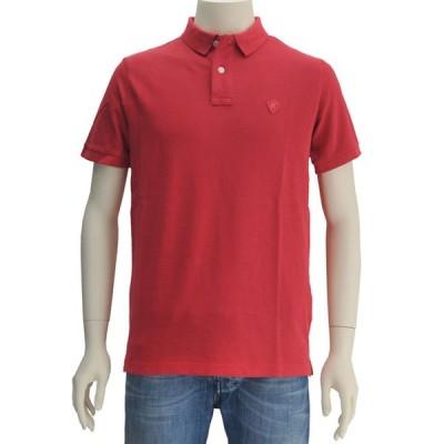 リプレイ 国内正規品 REPLAY ウォッシュレッド 鹿の子素材ウォッシュ加工 シンプルポロシャツ メンズ Men's
