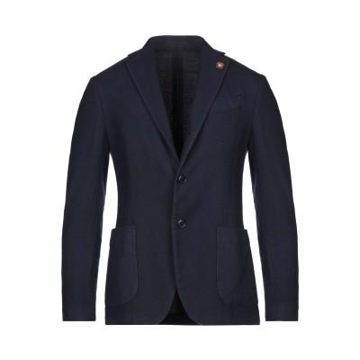 ラルディーニ LARDINI テーラードジャケット ダークブルー 48 ウール 80% / ポリエステル 20% テーラードジャケット