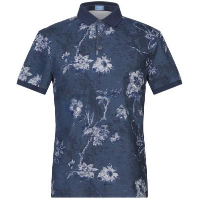 アティピコ AT.P.CO ポロシャツ ブルーグレー S コットン 100% ポロシャツ
