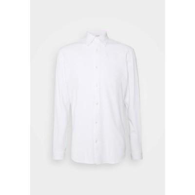 メンズ ファッション SLHSLIMOLIVER - Shirt - bright white